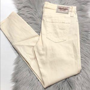 Big Star Ivory Alex Skinny Denim Jeans Size 31
